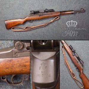 Belgian made FAL Rifle- 308 cal- live firing – UK Gun Hire