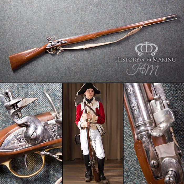 English Brown Bess Musket- Deactivated – UK Gun Hire